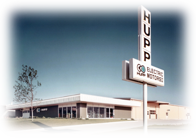 Hupp Electric Marion Iowa timeline 1969 new building