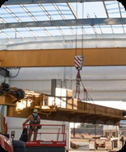 Hupp Electric Marion Iowa timeline 2015 50 ton crane installed