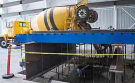 Hupp Electric Marion Iowa timeline 2016 cement pour