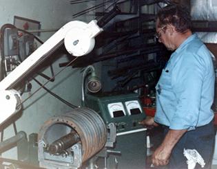 Hupp Electric Marion Iowa timeline 1965 rotor balance