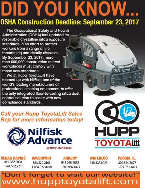 Hupp Toyota Liff - Specials - OSHA Construction Deadlines