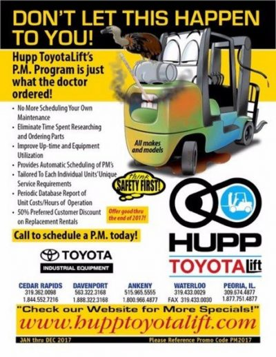Hupp Toyota Liff - Specials - PM Programs