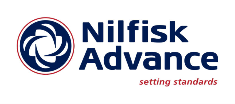 Hupp Toyota Lift Nilfisk Advance Logo